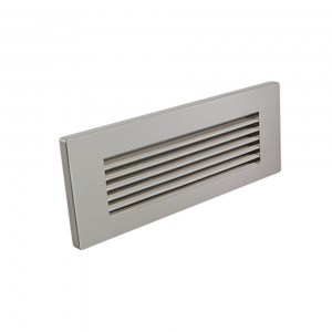 Screwless Louver Brushed Nickel Trim